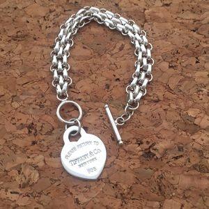 925 silver Tiffany's chain bracelet